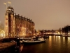 The Scheepvaarthuis stands like a huge ship moored to the canal side, prestigious location